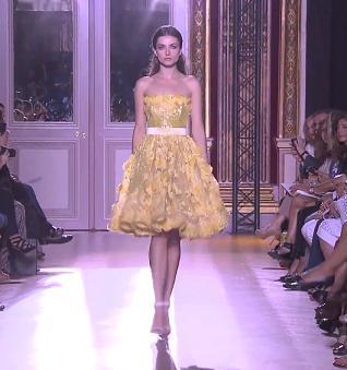 Выставка моды осень-зима от Зухаира Мурада - платья.
