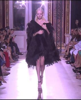 Выставка моды осень-зима от Зухаира Мурада - платья