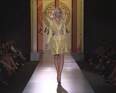 Versace осень-зима 2012-2013 - фото.