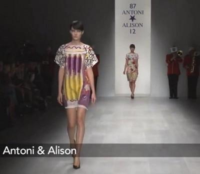 Antoni & Alison коллекция в Лондоне