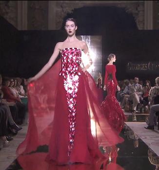 Красно-бордовые оттенки от Джоржа Чакры