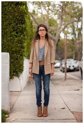 Стиль одежды кэжуал или casual для улицы