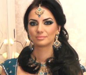 Делаем арабский макияж по фото.