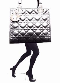 Реклама - сумка Lady Dior