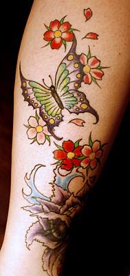 Фото красивых женских татуировок