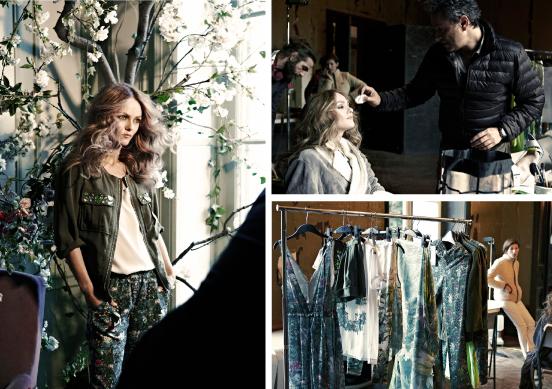 Ванесса Паради будет новое лицо H&M