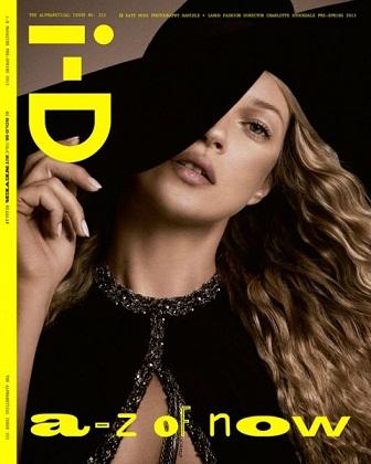 Кейт Мосс на обложке журнала ID (фото).