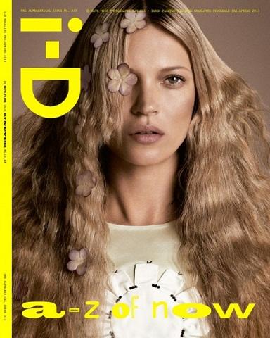 Кейт Мосс на обложке журнала ID.