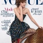 Фрея Беха Эриксен и ее таинство на обложке Vogue Paris