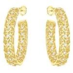 Золоті сережки від Dior