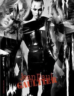Карлі Клосс в рекламній кампанії Jean Paul Gaultier