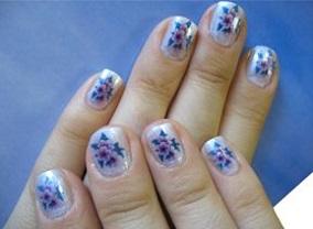 Манікюр на короткі нігті літнього сезону