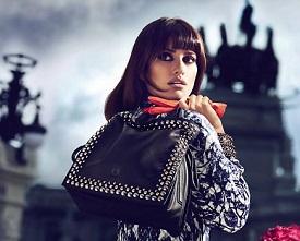 Реклама колекції сумок від Loewe.