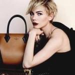 Мішель Вільямс рекламує колекцуію сумок від Louis Vuitton