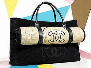 Новинка - сумочка для пляжу від Chanel