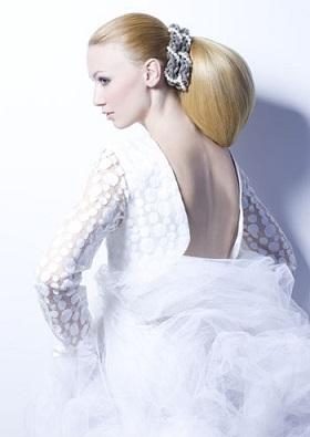 Весільні зачіски, приклади фото.