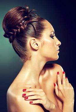 Зачіски в грецькому стилі красиве фото