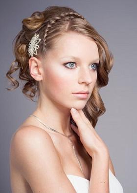 Весільні зачіски у цьому році на красиве світле волосся фото