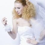 Весільні зачіски, приклади фото