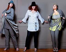 Модна одежа для повних жінок буде на виставці моди
