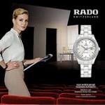 Рената Литвинова в рекламній компанії годинника Rado