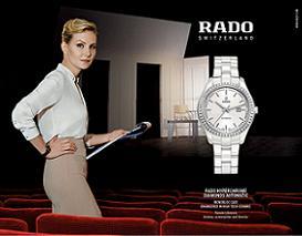 Рената Литвиновав рекламній компанії годинників Rado