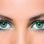 Весільний макіяж для зелених очей