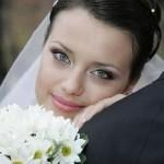 Весільний макіяж, його приклади на фото