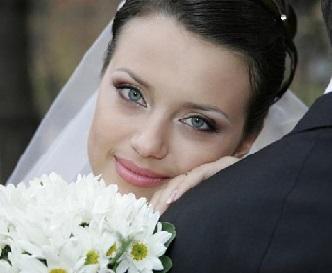 Весільний макіяж ф його фото