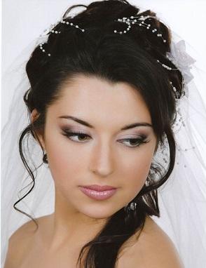 Весільний макіяж на фото