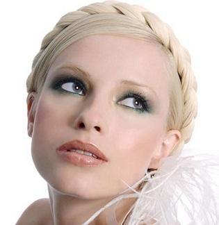 Весільний макіяж для білявок - фото.