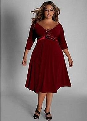 Сукні для повних жінок, як вибрати?