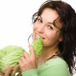 Капустяна дієта - меню