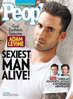 Адам Лівайн найсексуальніший чоловік року