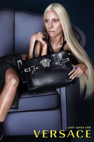 Леді Гага відтепер обличчя нової кампанії Versace