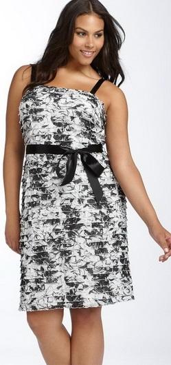 Сукні для повних жінок - фото