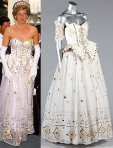 Сукня принцеси Діани продана за 167 тисяч