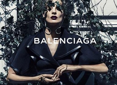 Дар'я Вербова обличчя Balenciaga