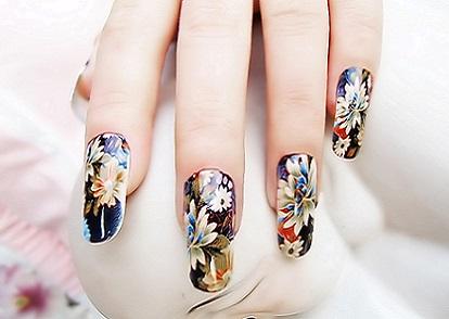 Фотодрук нігтів і його дизайн на фото