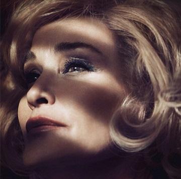 Джессіка Ленг обличчя косметики Marc Jacobs Beauty