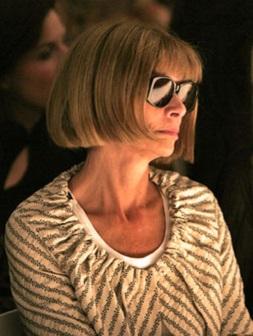 Анна Вінтур знехтувала показом Giorgio Armani