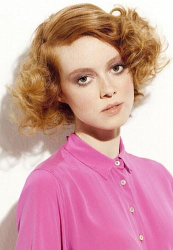 Молодіжні зачіски на кожен день для рижого волосся