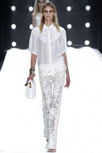 Білий колір у весняній та літній моді