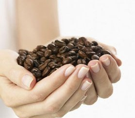 Скраб з кавової гущі, його застосування