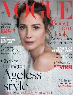 Крісті Тарлінгтон знову на обкладинці журналу Vogue