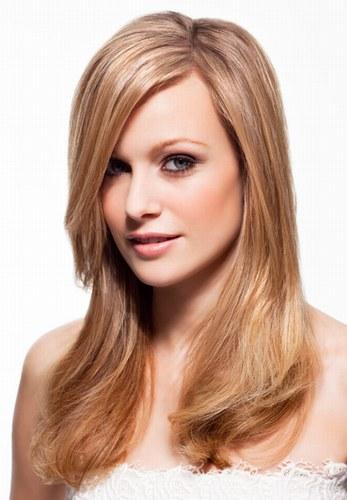 Стрижка на довге волосся фото.