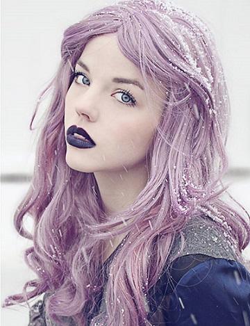 Кому личить фіолетовий колір волосся?
