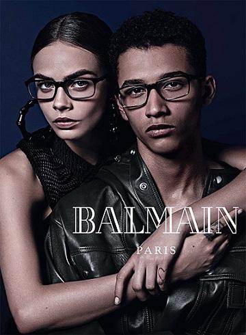 Фото колекції окулярів від Balmain