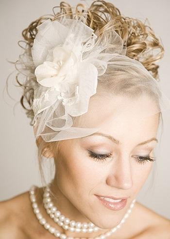 Фото весільних зачісок з фатою на фото