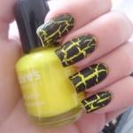 Жовтий манікюр для літнього сезону